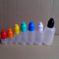 LDPE Needle Bottles with Childproof Safety Cap and Long Thin...