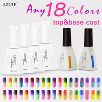 Azure Soak Off temperature changing gel polish 20pcs lot(18 ...