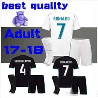 17 18 real madrid ASENSIO ronaldo SOCCER JERSEYS MEN KIT 201...