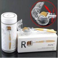Livraison Rapide 192 Broches Titanium Micro Aiguille Rouleau Derma Tampon ZGTS Derma Rouleau pour Soins de La Peau Mezo Rouleau