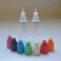 60ml Plastic E- cig E- liquid Plastic Bottle PET Bottle With T...