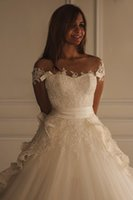 Custom Made Lace Marfim Beadedl Vestidos de Noiva 2016 Maison Yeya vestido Bonito Do Vintage Árabe Vestido De Noiva Vestidos
