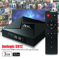 1 КУСОК!! TX9 Pro TV Box Android 7.1 RAM 3GB ROM 32GB KD 17.3 Amlogic S912 Dual WiFi Bluetooth4.1 1000M LAN 4K Full Loaded Лучше S905W M8S