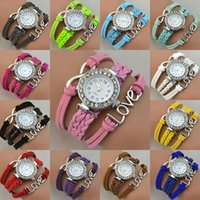 Infinity Love Charms Watches Fashion Quartz Bracelet Watches...