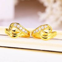 New Hot Style Wedding Earrings For Women Top Quality CZ Simu...