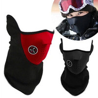 2016 3000PCS Neoprene Neck Warm Half Face Mask Winter Veil F...