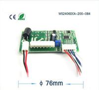マイクロブラシレスDCモータードライバ、ブロワーモータードライバボードCAN PWMスピードコントロール、モデル:WS2406DCA-200-OB4