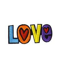 10pcs 사랑 의류 아이언에 대한 수 놓은 패치를 이송에 대 한 Applique 패치 드레스 가방 DIY 자수 스티커에 바느질