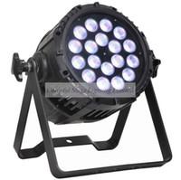 무료 배송 고품질 18X15W 자동 IP65 방수 RGBAW 5in1 LED 파 라이트 야외 LED 조명