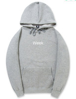 Week Hoodies Men Winter Fleece Hooded Pullovers Warm Casual ...