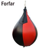 Fofar Pu Форма Pu Бокс Груша Поворотный грушей Штамповка Упражнение Спидбол Speed Bag Панч Фитнес Обучение Болл
