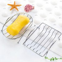 Stainless Steel Soap Holder Drain Soap Dish Tray Fashion & B...