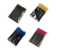 Высокое качество кисти для макияжа ресниц одноразовые кисти для ресниц тушь для ресниц палочки аппликатор одноразовые ресницы 50 шт. / Упак.
