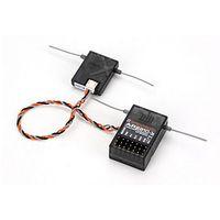 AR6210 Alıcı 6 Kanallı Uydular DSMX Alıcı Desteği JR ve Spektrum DSM X ve DSM2 Syst Ücretsiz Kargo