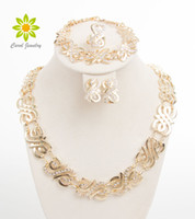 Fashion Jewelry Sets For Women Wedding Bridal Party Crystal ...