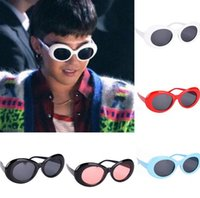 20 color Oval Sun glasses big children Men Women Punk glasse...