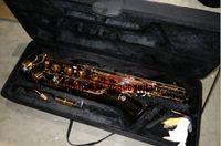Toptan-ÇİN'DE YAPıLAN YENI siyah nikel altın Ücretsiz kargo Mark Mk Düşük Bari Bariton Sax Saksafon
