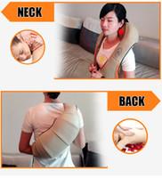 Multifunzione macchina casa di assistenza sanitaria cuscino massaggiatore agopuntura impastare massaggiatore collo spalla Darsonval contro cellulite corpo massaggio relax