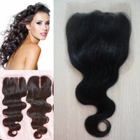 Human Hair Lace Closure 4x4 Brazilian Body Wave Closure, Huma...