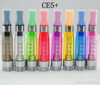 CE4 Vaporizador Clearomizer CE4 + CE5 + Atomizador CE5 Plus rebuildable bobina ecigarettes Atomizadores caber Ecigarettes eGo 510 fio evod Bateria