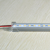 led light bar acquario 50 cm / pc bianco caldo DC 12V 36 SMD 5630 LED luce rigida rigida LED Strip Bar Light led strip