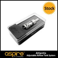 Stock Offering Aspire Atlantis Sub oHm Tank 2ML Aspire Atlantis Tank in Cute Gift Box, Nice Aspire Atlantis Clearomizer Tank RDA E Cigarette