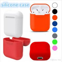 20 Colors For Apple Airpods Silicone Case Soft TPU Ultra Thi...
