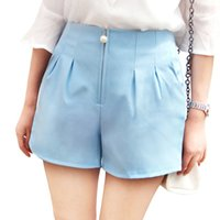 Wholesale- New Korea style simple short women 2017 Pearls zi...