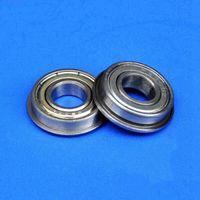 100 pz MF104ZZ 4mm flangiato cuscinetto 4x10x4 mm MF104 miniatura schermato flangia cuscinetti radiali a sfere 4 * 10 * 4
