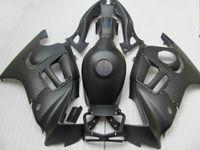 Honda CBR 600 F3 için tüm Mat Düz Siyah kaporta kitleri fairings 1997 1998 CBR600 F3 97 98 kaporta kiti