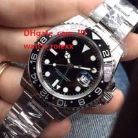 17- 18 Mens High Quality Luxury AAA GMT Noob Factory V2 Ceram...