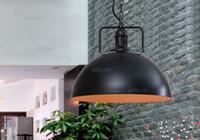 RH industry style LOFT Pendant Lamps American Country style lighting Vintage Restoration Hardware 6020 edison chandeliers