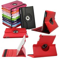 360 Rotating Leather smart Cover Case for ipad 4 air 2 mini ...