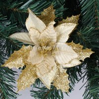 17cm 3 Colors Available Christmas Tree Decoration Flower Hig...