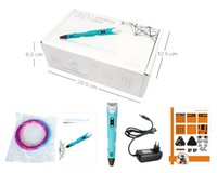 Puzzle toy, 3D printing pen with LED screen, Adjustable speed,...