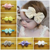 10pcs Kids Girls Baby Toddler Infant Flower Headband Hair Bo...