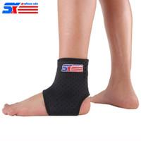 Spor Basketbol Elastik Ayak Bileği Ayak Brace Destek Askı Wrap Kemer Rahat Bant Pad Yaralanma Rehabilitasyon SX661
