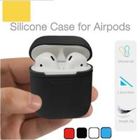 2018 For Apple Airpods Silicone Case Soft TPU Ultra Thin Pro...