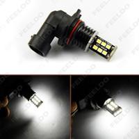 vente en gros 12v / 24v dc voiture / camion 9006 15SMD 2835-puce led ampoule de phare antibrouillard blanc: 3110