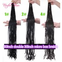 3x tranças de caixa esticadas 60 polegadas zizi crochet tranças de cabelo tranças sintéticas tranças de cabelo micro tranças marley kanekalon freetress