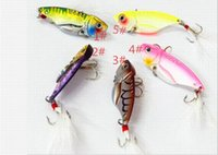 20PCS 5. 5CM 11g 2. 16in 0. 38oz VIB Vibration all- metal lure f...