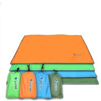 Outdoor Sun Shelter Impermeabile Spiaggia tenda da sole Camping Picnic Mat Picnic Coperta Tenda Pergola Tenda Baldacchino Tarp 150 * 220 cm 4 Colori