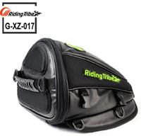 Езда-TRIBE Синтетическая кожа мотоцикла Moto сумка Шлем инструмент сумка сумка водонепроницаемый мотоцикл езда масло Топливный бак мешок багажа