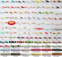 1000 pcs Livraison gratuite Papier Pailles Chevron Patrons Rayé Polka Dots Pailles De Papier 92