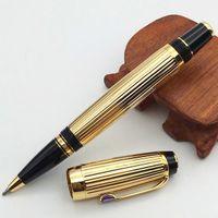 Berühmte Limited Edition Mode Roller Kugelschreiber Seriennummer Weiß Keramik Geschenkstifte mit zufälliger Edelsteinstein