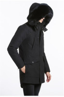 Mens Long editions Ryan Parkas with Fox Fur Trimmed Hooded K...