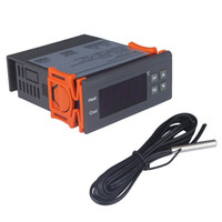 Digital Temperature Controller LCD Thermostat Regulator Thermostats w/ Sensor 12V 24V AC 110V 220V STC-1000 Controllers Thermostat Switch