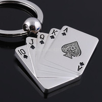 Cool Model poker Keychain Men Motorcycle Bicycle Casque Key Ring Alloy Key Fob For Gift Chaveiro Key Chain Keyring Keyfob N012