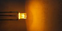 1000pcs rectangulaire 234 2 * 3 * jaune rouge 4 mm bicolor @ conduit perles de lumière à diode