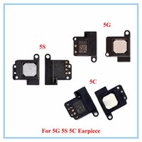 Apple iPhone 4 4S 5 5G 5S 5C SE 6G 6S 6S Plus için 100pcs / lot Kulaklık Kulak Adet Ses Hoparlör Dinleme Alıcı